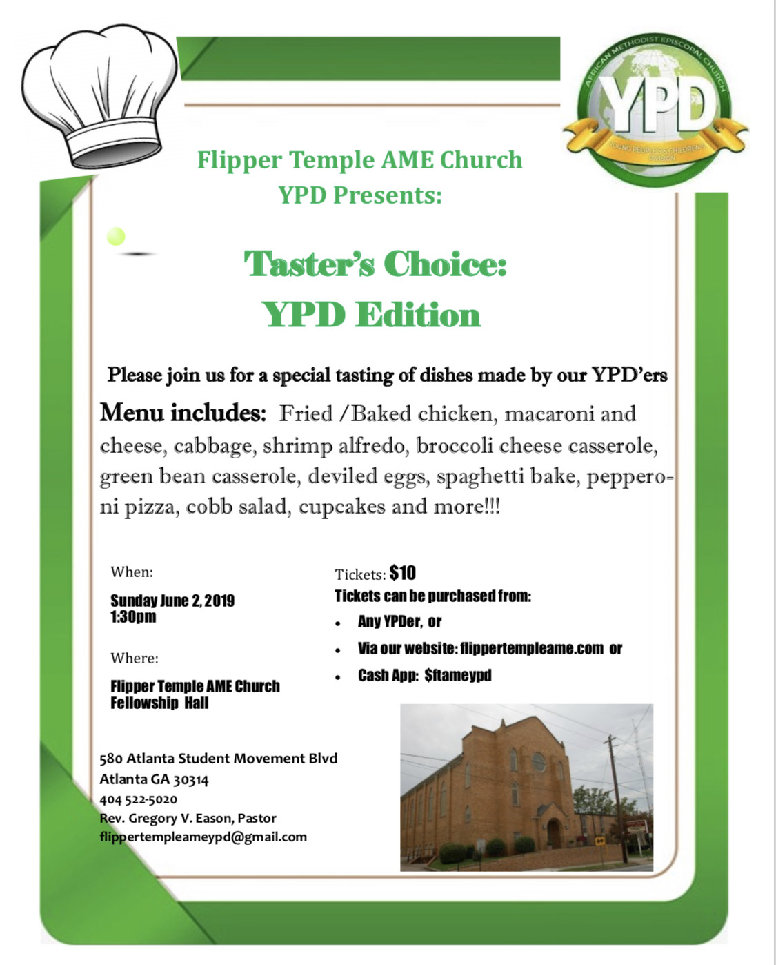 Taster's Choice: YPD Edition